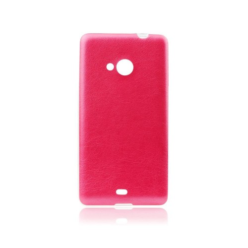 Силиконов калъф Jelly Case Leather - HTC One M9 розов