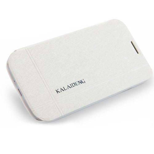 Калъф тефтер Iceland - Samsung Galaxy Note 2 бял