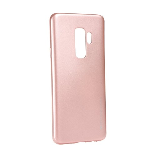 Гръб i-Jelly Mercury - Samsung Galaxy S9 светло розов