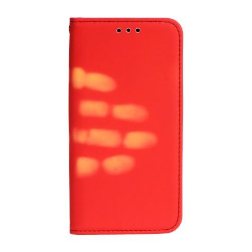 Калъф Thermo Book - HTC U11 червен