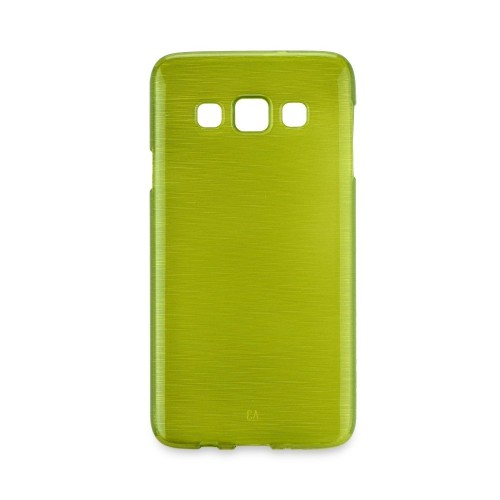 Гръб BRUSH Jelly - Samsung Galaxy S7 Edge зелен