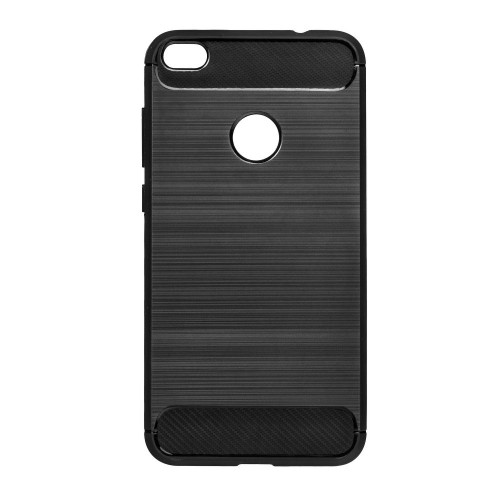 Гръб FORCELL Carbon - Apple iPhone XS черен