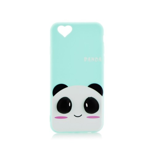 3D гръб - Apple IPhone 7 Blue panda