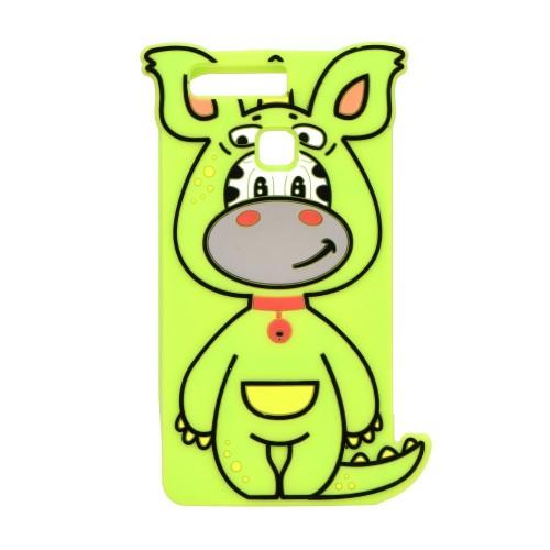 3D гръб - Apple iPhone 6 Dino green