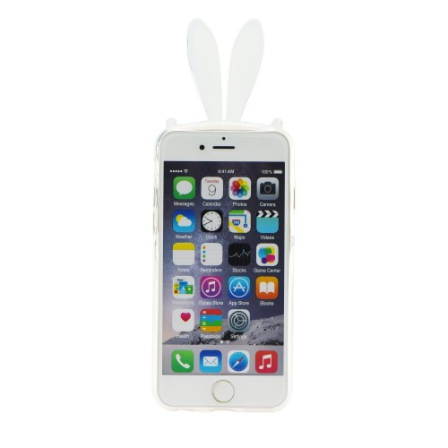 3D гръб - Apple iPhone 6 Grey ears