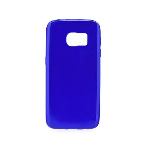Силиконов калъф Jelly bright - Samsung Galaxy S7 Edge син