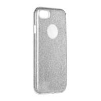 Гръб Forcell SHINING - Apple iPhone 12 сребрист