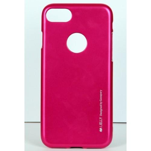 Гръб i-Jelly Mercury - Apple iPhone 6S розов