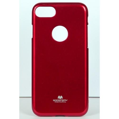 Гръб i-Jelly Mercury - Apple iPhone 6S червен