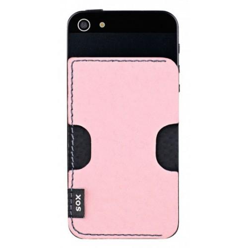 Кожен гръб от естествена кожа BACKY - Samsung Xcover 2 розов