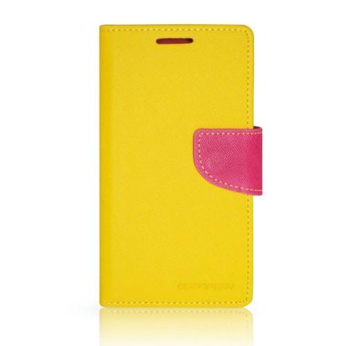 Калъф Mercury Samsung Galaxy Note 2 жълт