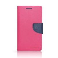 Калъф Mercury - Samsung Galaxy Note 4 розов-тъмно син