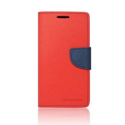 Калъф Mercury - Samsung Galaxy Note 4 червен-тъмно син