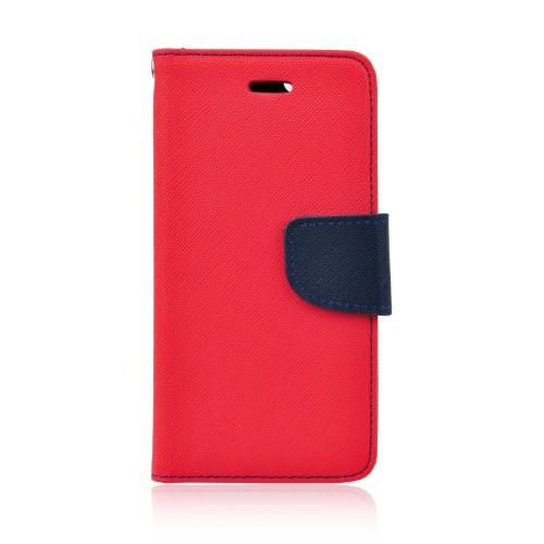 Калъф Fancy Book - Nokia 6.1 2018 червен