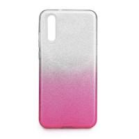Гръб Forcell SHINING - Apple iPhone 12 бял/розов