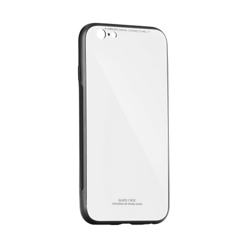 Калъф Forcell Glass - Huawei P20 бял