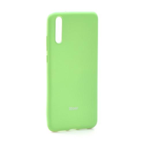 Гръб Roar Colorful Jelly - Huawei Y6 2018 лайм