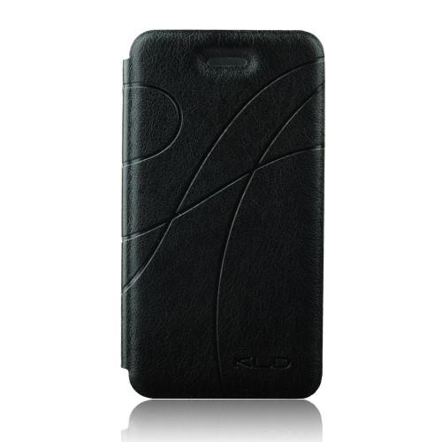 Кожен калъф Oscar - Apple iPhone 6 черен