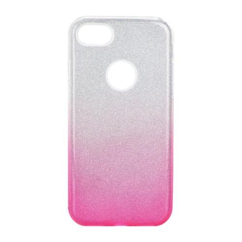 Гръб Forcell SHINING - Samsung Galaxy Note 8 прозрачен-розов