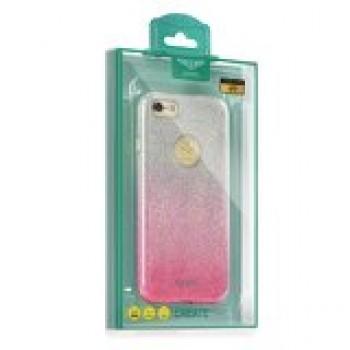 Калъф Kaku Ombre - Apple iPhone 7 розов