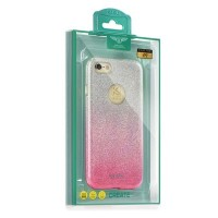 Калъф Kaku Ombre - Huawei P9 Lite розов