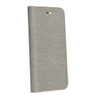 Калъф Luna Book - Huawei P30 сив