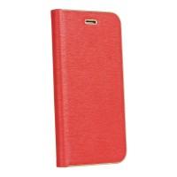 Калъф Luna Book - Apple iPhone SE 2020 червен
