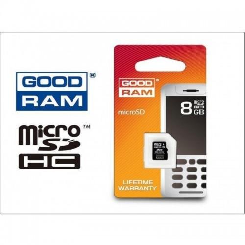 Карта памет Micro SD на GOODRAM 8GB class 10