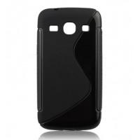 Силиконов калъф S-line - LG G Flex черен