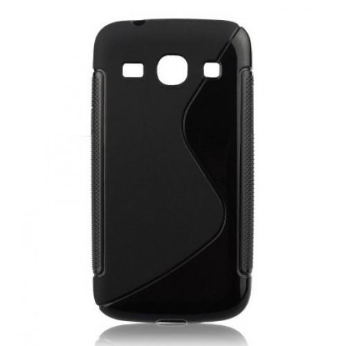 Силиконов калъф S-line - Samsung Galaxy Note черен