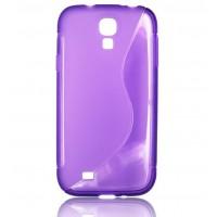 Силиконов калъф S-line - HTC One M8 лилав