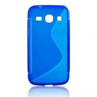 Силиконов калъф S-Line - Apple iPhone 5S син