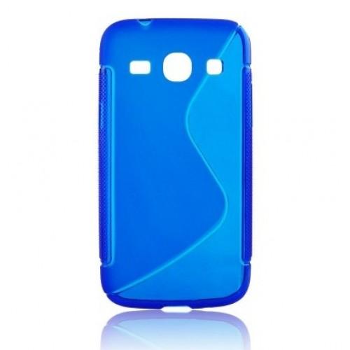 Силиконов калъф S-line - LG G2 Mini син