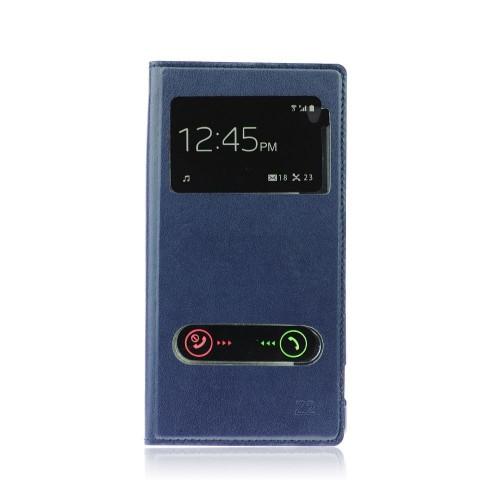Калъф S-View - LG G3 син