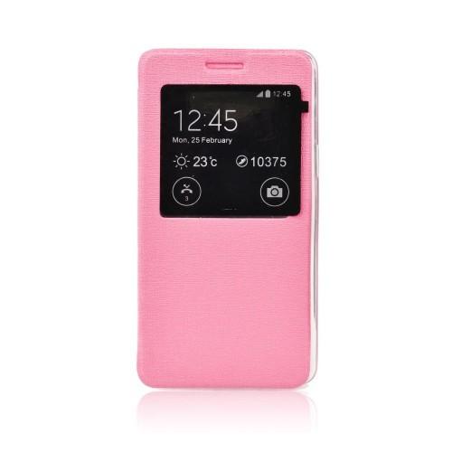 Калъф S-View Flexi - LG G4 розов