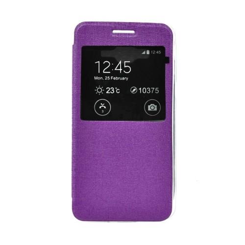 Калъф S-View Flexi - Samsung Galaxy J5 лилав