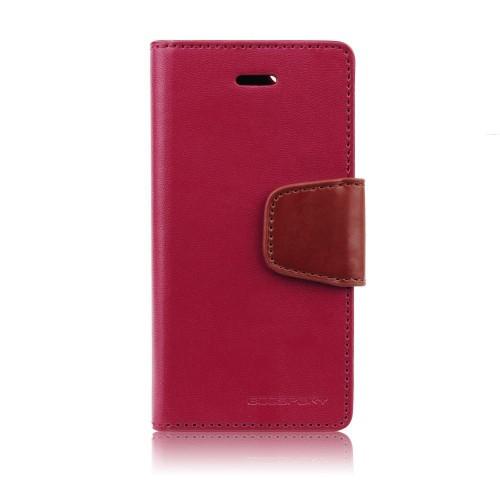 Кожен калъф Sonata - Sony Xperia Z1 Mini червен