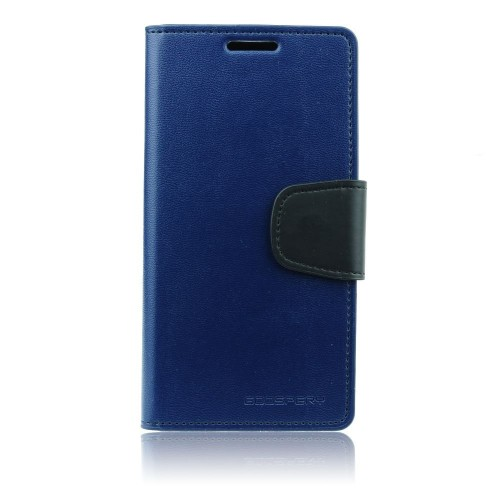 Кожен калъф Sonata - Sony Xperia Z1 тъмно син