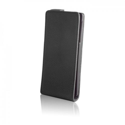 Кожен калъф Stand - HTC Desire 816 черен