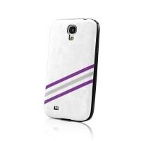 Силиконов калъф Strips - Apple iPhone 4 бял