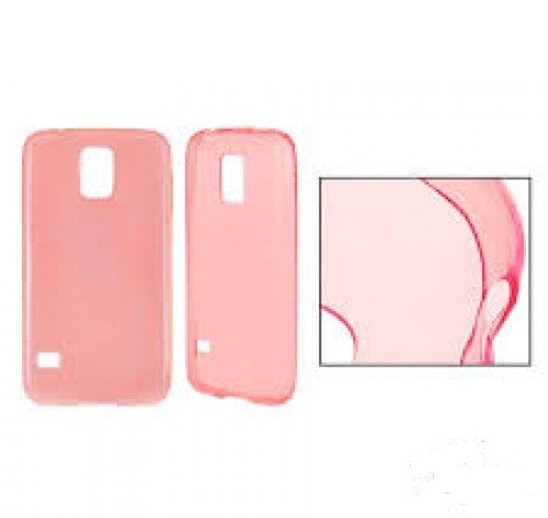 Силиконов калъф Ultra Slim - Samsung Galaxy J1 розов