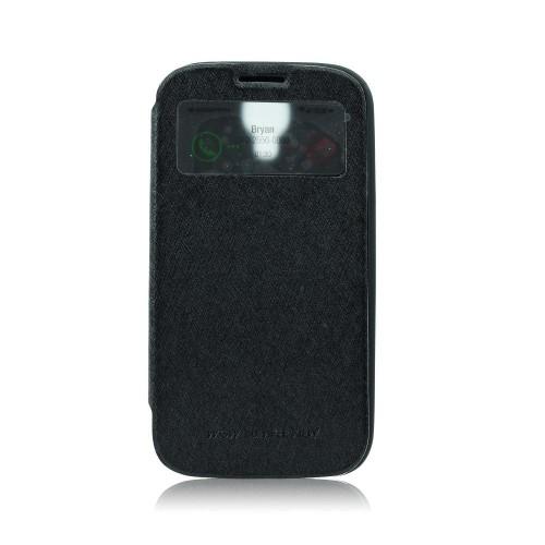 Калъф WOW - Samsung Galaxy S4 черен