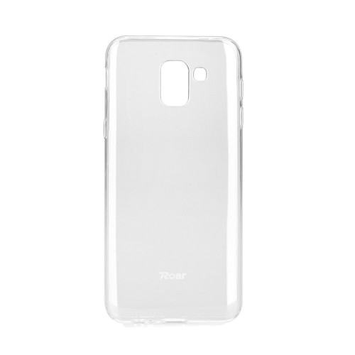Гръб Jelly Case Roar -  Samsung Galaxy J6 2018 прозрачен