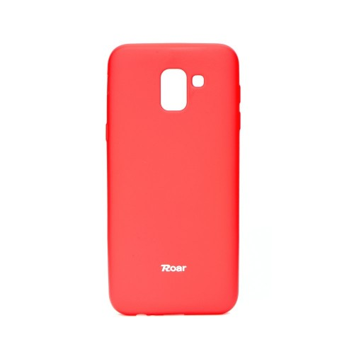 Гръб Roar Colorful Jelly - Samsung Galaxy J6 2018 розов