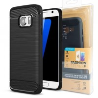 Гръб FORCELL Carbon - Samsung Galaxy S21+ черен