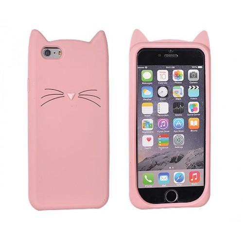 3D гръб Funny - Samsung Galaxy A3 2017 розова котка
