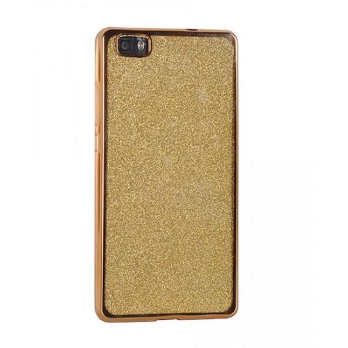 Гръб Elektro Glitter - Samsung Galaxy S8 златен