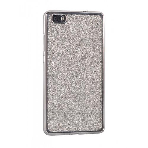 Гръб Elektro Glitter - LG K8 2017 сребрист