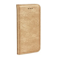 Калъф FORCELL Magic Book за Huawei P8 Lite 2017 златен