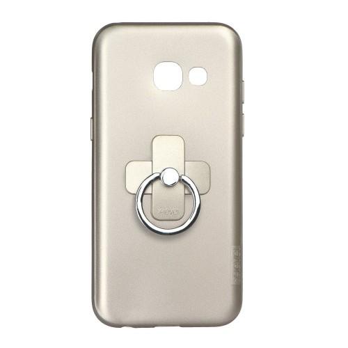 Гръб XLEVEL Jelly 2 - Samsung Galaxy A5 златен